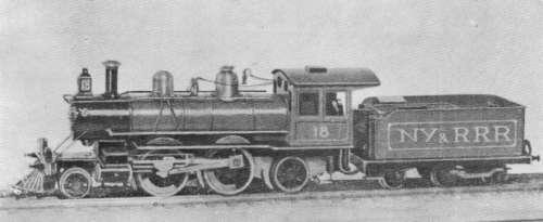 蒸気機関車の車軸配置・2-4-2(コロンビア)