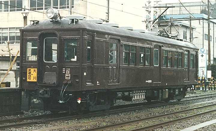 鉄道省モハ34・日本国有鉄道クモ...