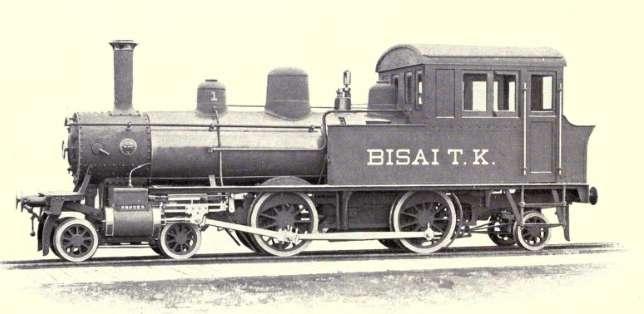 明治村鉄道の蒸気機関車
